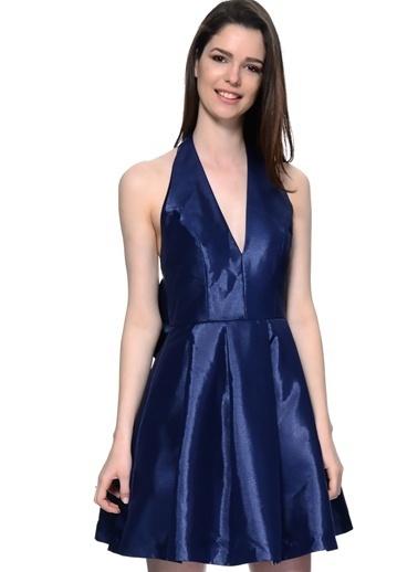 Glamorous Elbise Lacivert